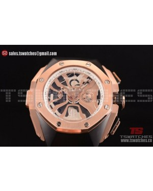 Audemars Piguet Royal Oak Concept Laptimer Michael Schumacher Limited Edition Skeleton Dial PVD/RU - Japan Quartz