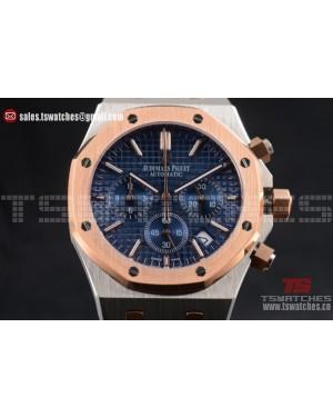 Audemars Piguet Royal Oak TT/TT Miyota Quartz Blue Dial