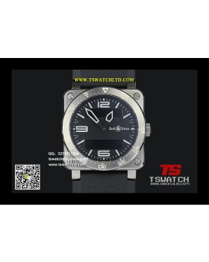 BE17185 - Bell&Rose BR03 INSTRUMENT Digital 1:1 Swiss Original ETA955.333