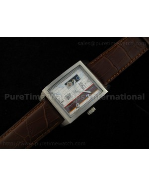Port Royal Open Anniversary Stainless Steel White Dial