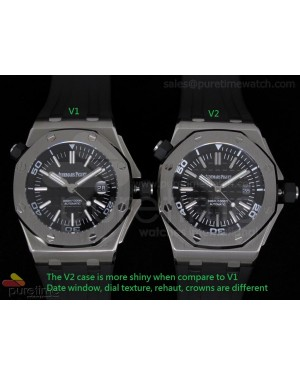Royal Oak Offshore Diver V1 vs V2 Review