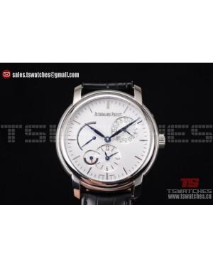 Audemars Piguet Jules Audemars Dual Time White Dial SS/LT - ST25 Auto
