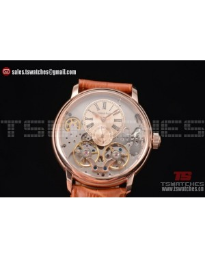 Audemars Piguet Jules Audemars Skeleton Tourbillon Rose Gold Dial RG/LT - ST25 Auto