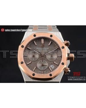 Audemars Piguet Royal Oak Miyota Quartz TT/TT Grey Dial