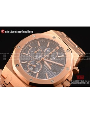 Audemars Piguet Royal Oak Chronograph Miyota OS10 Quartz Blue Dial RG/RG
