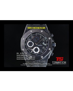 AU17382 - Royal Oak Offshore Real Forge Carbon JF 1:1 Best Edition A3126 (Free EXTRA...