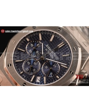 Audemars Piguet Royal Oak Chronograph Miyota OS20 Quartz Blue Dial SS/SS