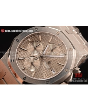 Audemars Piguet Royal Oak Chronograph Miyota OS10 Quartz Grey Dial SS/SS