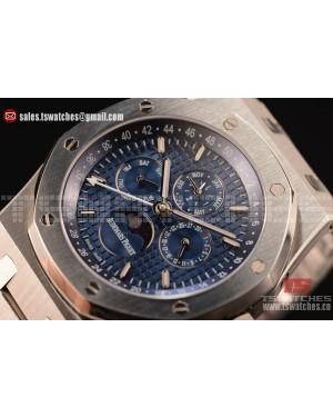 Audemars Piguet Royal Oak Perpetual Calendar Asia Auto Blue Dial SS/SS