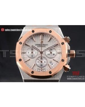 Audemars Piguet Royal Oak Miyota Quartz TT/TT Silver Dial