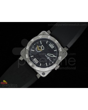 BR 03 Type Aviation SS French Air Force Black Dial
