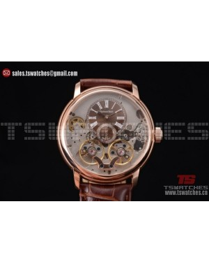 Audemars Piguet Jules Audemars Skeleton Tourbillon Brown Dial RG/LT - ST25 Auto