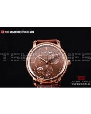 Audemars Piguet Jules Audemars Dual Time Brown RG/LT - ST25 Auto