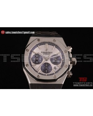Audemars Piguet Royal Oak QE II CUP 2015 Limited Edition Chrono White Dial SS/SS - 7750 Auto (EF)