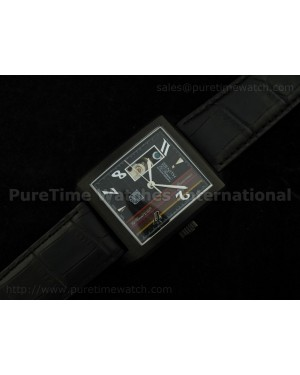 Port Royal Open Anniversary PVD Black Dial