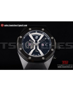 Audemars Piguet Royal Oak Concept White Central Bridge PVD/RU - OS20 Quartz (EF)
