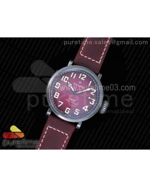 Pilot Type 20 Extra Special 40mm Aged SS Case V6F 1:1 Best Edition on Asso Strap MIYOTA 9015 (Pink)