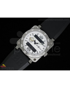 BR 03 Type Aviation SS French Air Force White Dial