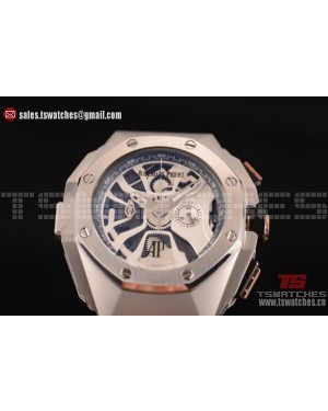 Audemars Piguet Royal Oak Concept Laptimer Michael Schumacher Limited Edition Skeleton Dial SS/RU - Japan Quartz
