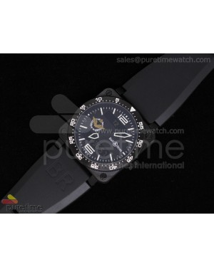 BR 03 Type Aviation PVD Black Dial