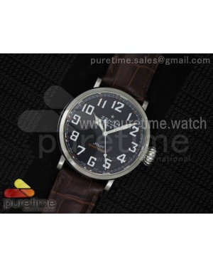 Pilot Type 20 Extra Special SS 45mm Black Dial on Brown Leather Strap A23J